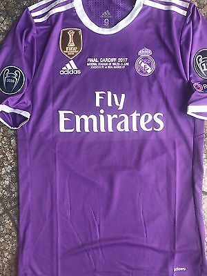 Maillot Player VARANE Real Madrid Finale Champions League