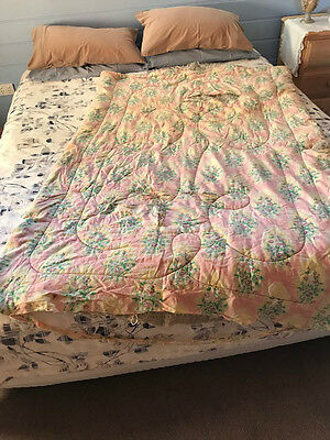 Antique Paisley Eiderdown - Single Bed