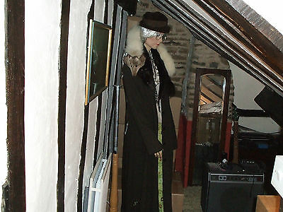 """""""Cynthia"""" vintage mannequin, one of the original Hells Grannies !"""