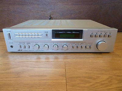 Near Immaculate! Akai AA-R31L Receiver Amplifier + Phono Preamplifier Stage VU