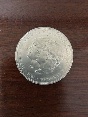 prince of wales and lady diana coin 1981