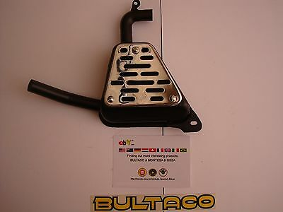 Bultaco Sherpa Exhaust Silencer New Sherpa T Exhaust Kit Campeon Exhaust  New