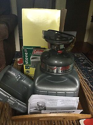 coleman 533 dual fuel sportster stove camping carp fishing