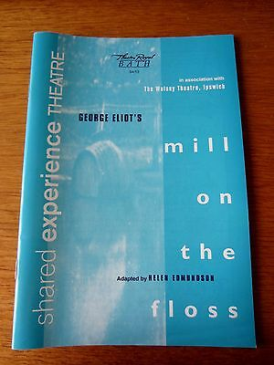 1994 Mill On The Floss - Bath Theatre Royal Programme