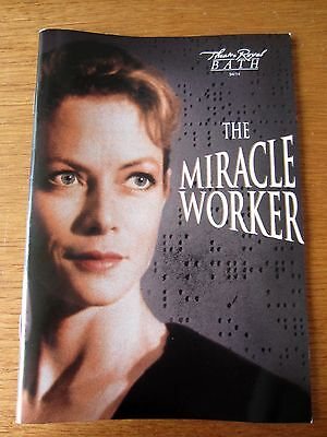The Miracle Worker - 1994 Bath Theatre Royal Programme - Starring Jenny Seagrove