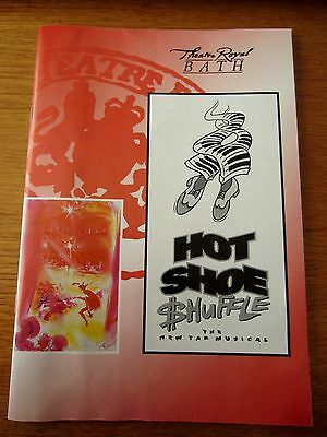 Hot Shoe Shuffle, The New Tap Musical - 1995 Bath Theatre Royal Programme