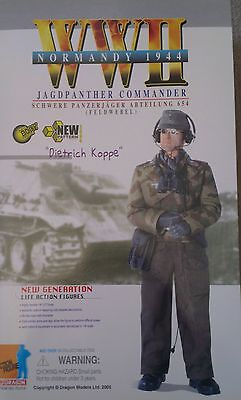 """Jagdpanther Commander """"dietrich Koppe"""" In Giant 1/6 Scale - Dragon Sealed"""