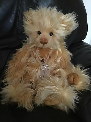 Charlie Bear Sovereign very good condition and with  tags