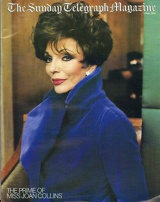 JOAN COLLINS - Vintage SUNDAY TELEGRAPH MAGAZINE May 1999 C#73