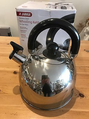 Judge Whistling Kettle 3.5 Ltr