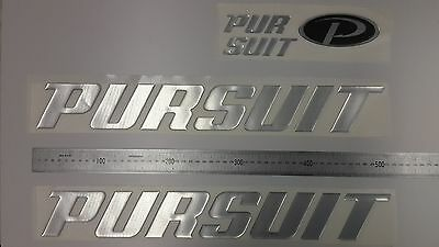 "PURSUIT boat Emblem 20"" Stickers Set - Adesivi Barca"