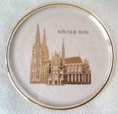 ORREFORS GLASS WORSHIP PLACES COLOGNE CATHEDRAL Kölner Dom DISH LIMITED EDITION
