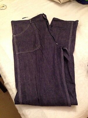 Vintage Jeans By Visor Size 14/16 Denim High Waist Retro / Rockabilly