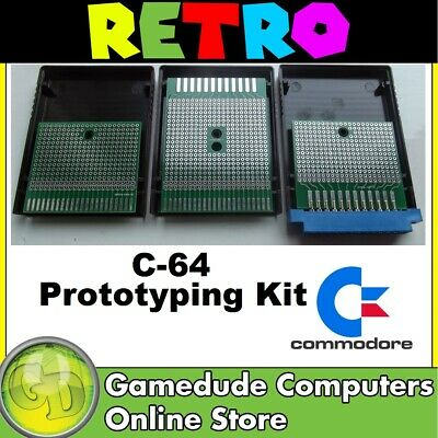 Commodore 64/128 Baby Prototyping Kit - Cartridge & User Ports   [F03]