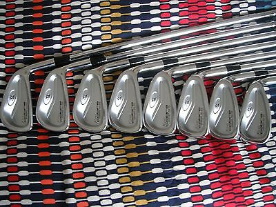 Cobra SS Forged irons 3-PW Dynamic Gold S300 stiff steel shafts RH