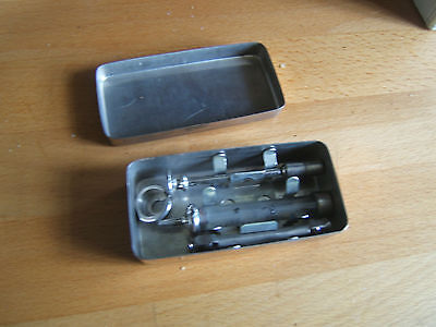 Vintage rare Arnold and Sons hypodermic needle surgical vets medical equipment