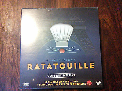 Ratatouille - coffret collector 3D - 2D - blu-ray - Disney - NEUF SOUS BLISTER