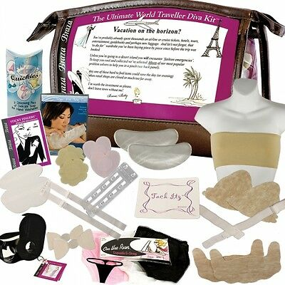 Braza Ultimate World Traveller Diva Kit 1380, packed with bra and fashion fixes