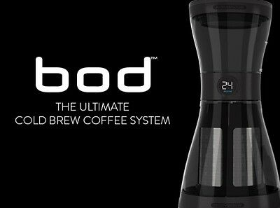 THE BOD Complete Cold Brew Coffee System. With Added Health Benefits.