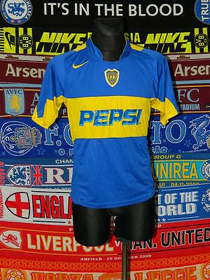 4/5 Boca Juniors adults M 2004 retro football shirt jersey trikot
