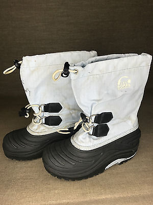 Kids SOREL WATERPROOF APRES SNOW BOOTS