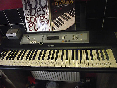 Yamaha YPT 200 with Stand and books