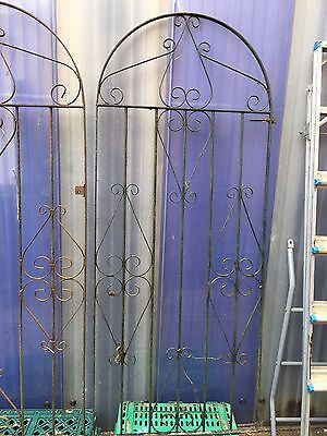 Two Wrought Iron Side gates