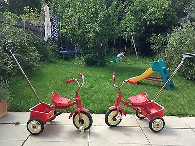 Great Little Trading Company Classic Red Trike GLTC Twins 2 available (£15 each)