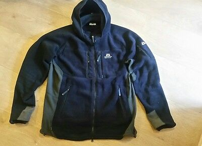Original Mountain equipment touchstone technical hooded fleece jacket XL RAB