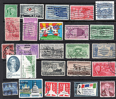 USA Stamp Collection. X 26 Used
