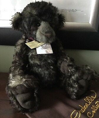 Charlie Bears Isabelle Collection Limited Edition Mohair Sherlock Bear Retired