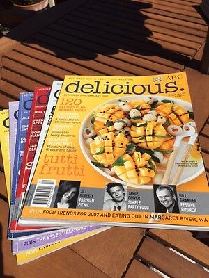 Delicious Magazine (Australian Edition) 6 Issues From 2006