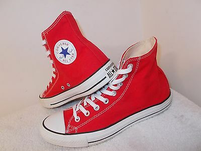 Mens Converse All Star Ct Trainers Size 8.5 Uk Red Canvas