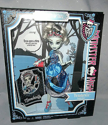 Monster High Doll Threadarella Story - New in Box