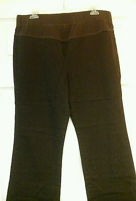Guc Brown Motherhood Maternity Jeans Size Large
