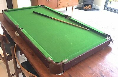 Snooker table - 140cm x 74cm good condition