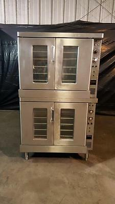 Hobart GE GN90B Double Stack Electric Convection Oven