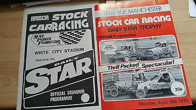 Brisca F1 Stock Car Daily Star Programme 1979