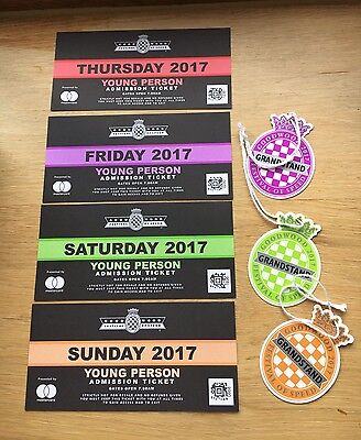 Goodwood Festival Of Speed Tickets 2017 Young Person & Grand Stand Full Weekend