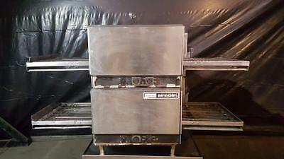 Lincoln 1302-4/1301 Double Stack Countertop Impinger Conveyor Oven