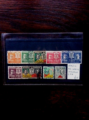 1931 Brazil stamp collection