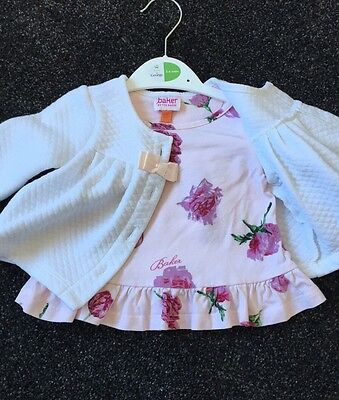 Ted Baker Baby Girl Tulip Top Jacket Age 0-3 Months Upto 3