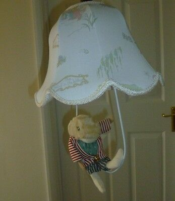 Wind In The Willows Vintage 1988 - Light Shade And Ratty Attachment