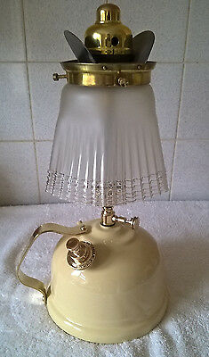 Vintage Tilley Paraffin Oil Table Lamp With Bat Wing Gallery