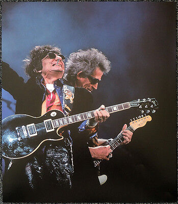 The Rolling Stones Poster Page Keith Richards & Ron Wood . Y95