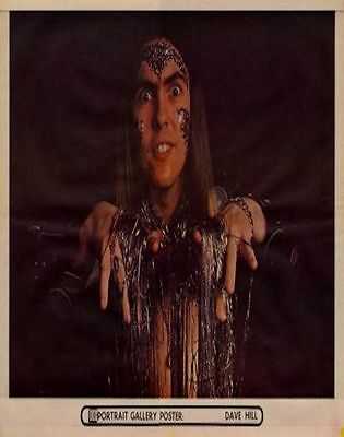 Slade Dave Hill UK Poster 1973 TRANSPARENT