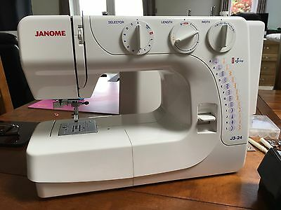 Janome J3-24 Sewing Machine With 1/4inch Foot