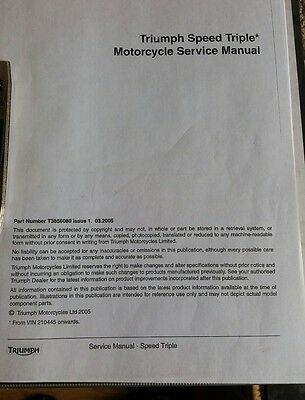 triumph speed triple manual
