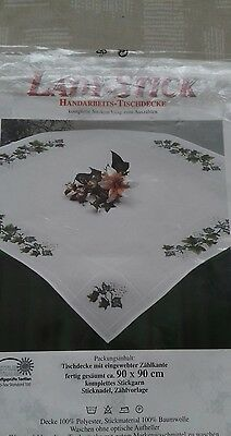cross stitch tablecloth kit