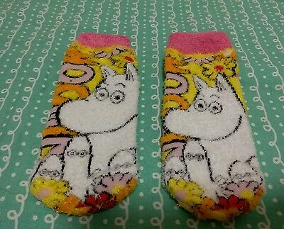 Moomin Valley Character Moomintroll Short Sock One Pair 22-24cm